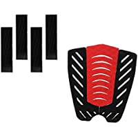 MagiDeal 7 Piezas Almohadilla de Tracción de Cola Agarre de Cubierta para Tabla de Surf Skimboard