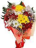 Ramo de flores naturales a domicilio de margaritas con envío y nota dedicatoria incluidos.