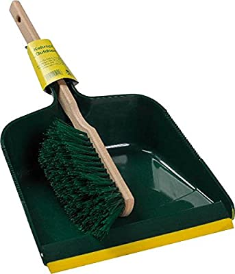 Bümag Besen Outdoor-Kehrgarnitur, Elaston, grün / mehrfarbig