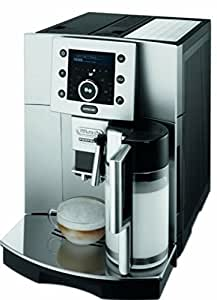 delonghi perfecta esam 5500 m machine caf automatique avec buse vapeur cappuccino argent. Black Bedroom Furniture Sets. Home Design Ideas