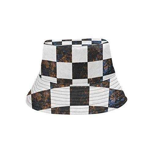 Multi Plaid Reversible Hut - Top Hüte Sommer leichte Eimer Hut