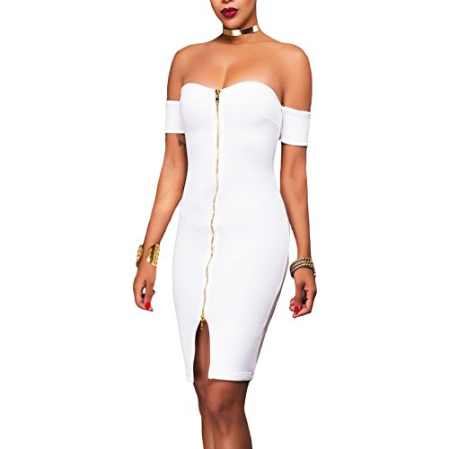 Toocool - Robe - Femme Bianco