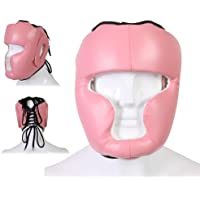 Hit Em Hard Boxen Kopfschutz Helm MMA Martial Arts Muay Thai Kickboxen UFC Kampf Pink