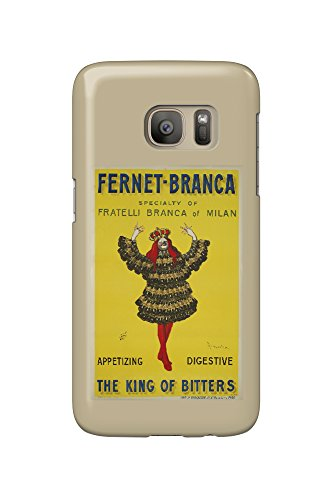Price comparison product image Fernet - Branca - The King of Bitters (artist: Cappiello,  Leonetto) France c. 1909 - Vintage Poster (Galaxy S7 Cell Phone Case,  Slim Barely There)