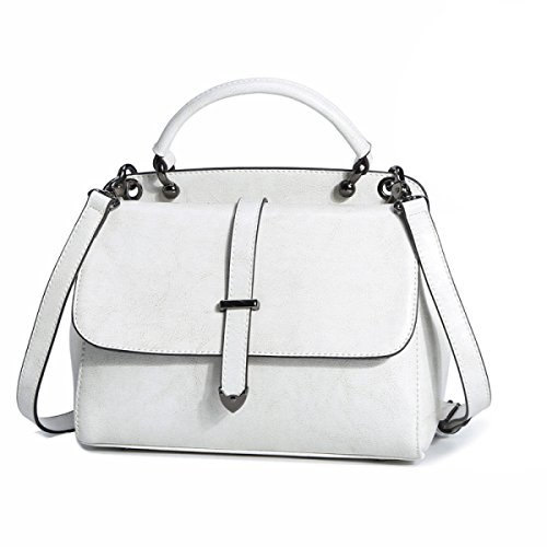Handtasche Casual Portable Messenger Schulter Farbe Earthy