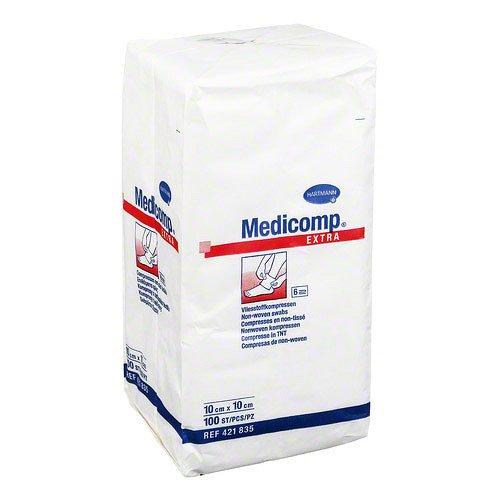 Medicomp Extra Kompressen 10x10 cm Unsteril, 100 St