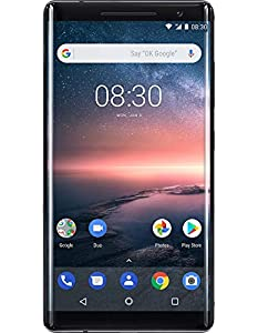 Nokia 8 Sirocco UK SIM-Free Smartphone - Black