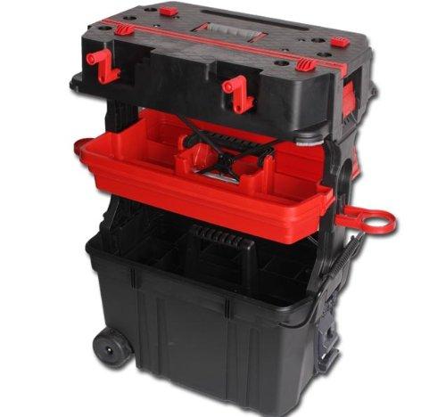 Werkzeugkoffer Werkzeugkiste Werkzeugtrolley Werkstattwagen Werkbank Modell ELECSA 2043