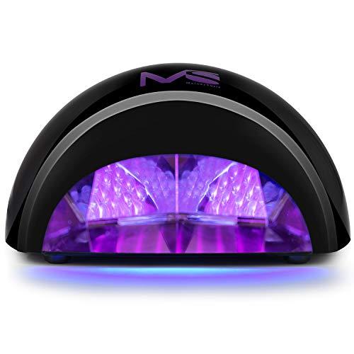 MelodySusie VIOLETILI Sèche Ongles Lampe LED pour Gel LED -  Noir