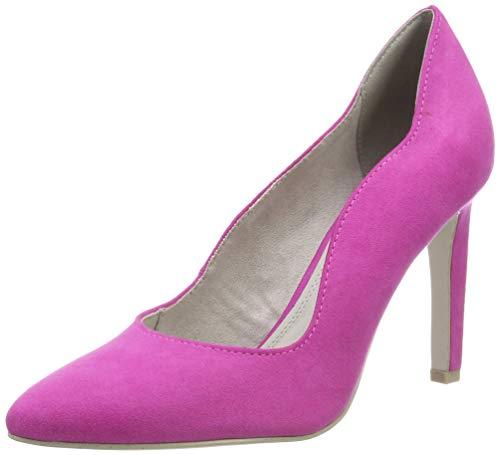 Marco Tozzi 2-2-22422-22, Zapatos de Tacón para Mujer, Rosa Fuxia 513, 37 EU