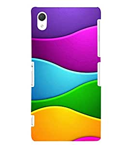 GADGET LOOKS PRINTED BACK COVER FOR SONY XPERIA Z2 MULTICOLOUR