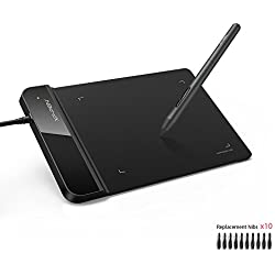 XP-Pen Tablette Graphique à Stylet Passif Tablette Signature (G430S, Noir, Version 2018)