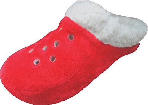 RTB-pantoufle femme Rouge - Rouge
