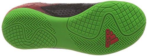 adidas Unisex-Kinder Messi 15.4 in Fußballschuhe Schwarz (Core Black/Solar Green/Solar Red)