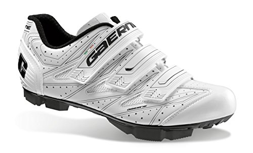 Gaerne G.Cosmo MTB Cycling Shoes SPD sistema a scatto White