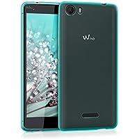 kwmobile Funda para Wiko Fever 4G - Case para móvil en TPU silicona - Cover trasero en azul
