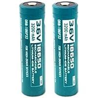 Olight® Piles Rechargeables 18650 3200mAh Accus Panasonic Accumulateur Batterie Interne pour Lampe de Poche / Torche / Autres Appareils (3200mAh)