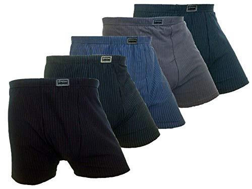 6er Pack Herren Boxershorts Unterwäsche Retroshorts Übergröße Unterhosen Baumwolle 4XL 5XL 6XL 7XL (5XL)