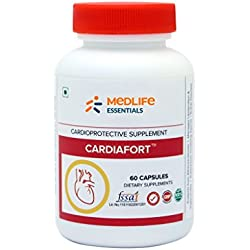 Medife Essentials Cardiafort for Healthy Heart, Cholesterol & Blood Pressure | 60 Capsules