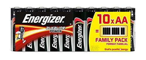 Energizer Alkaline Batterie AA Mignon 10er Pack