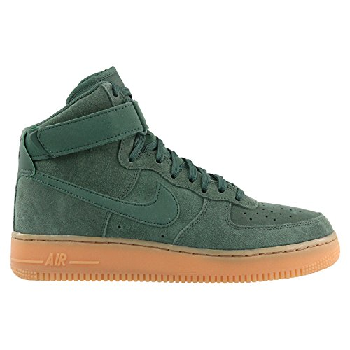 Nike Herren Air Force 1 High '07 LV8 Dunkelgrün Wildleder Sneaker 47.5