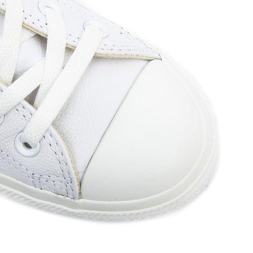 Converse - Chuck Taylor All Star Mono Hi - Sneakers Haute - Mixte Adulte White Monochrome