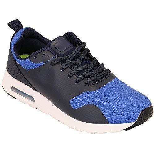 Baskets Hommes lacet de course actif Bulle chaussures chaussures baskets GYM SPORT NEUF - MARINE - 96877a1, 7 UK