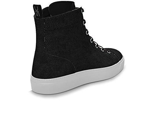 DIS - Gianmarco - Sneakers Hautes - Unisexe Noir