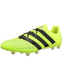 huge selection of 8ae77 80a26 adidas Ace 16.1 FG, Botas de fútbol para Hombre, Amarillo (Amasol Negbas