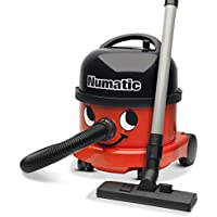 NUMATIC NRV200-11 Commercial Vacuum, 580 Watt, Red/Black