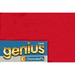 Copridivano Modellante Biancaluna Genius Suit Divani Maxi Struttura Angolare -Rosso 1016-da 360 a 440 cm