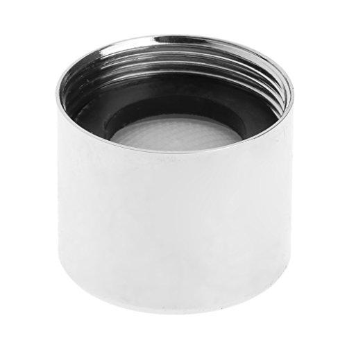 Erisl - Aireador de grifos de cocina (16 x 20 mm, acero inoxidable)