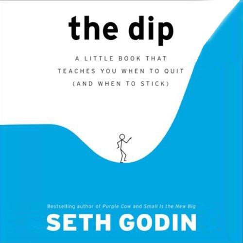 Buchseite und Rezensionen zu 'The Dip' von Seth Godin