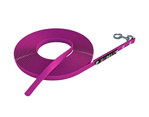BUMAS - sport - Schleppleine aus BioThane® in pink 10 m