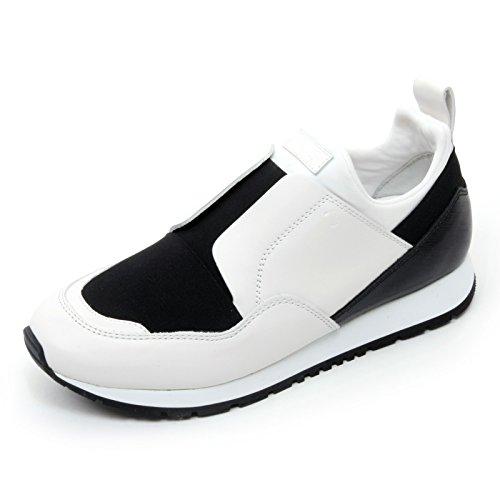 Tod's B7249 Sneaker Donna Scarpa Sportivo Yo Nero/Bianco Shoe Woman [38]