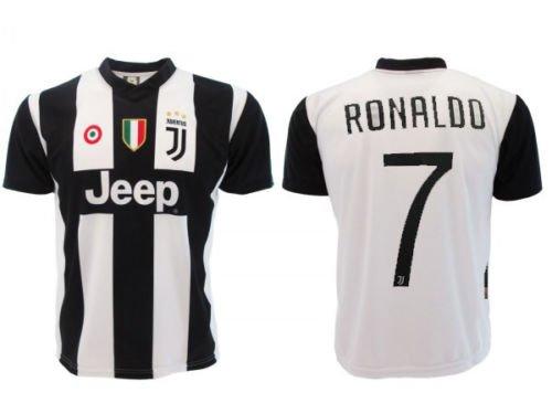 Juve f.c maglia replica home bianconera casa cr7 autorizzata ufficiale cristiano ronaldo 7