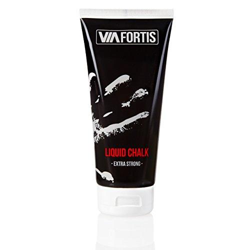 VIA FORTIS Liquid Chalk – Flüssiges Magnesia für besseren Grip beim Sport – Schnell trocknend,...
