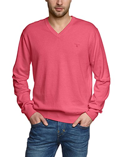 GANT - Weight - Pull-over - homme Rouge (Cyklamen Mélange 695)