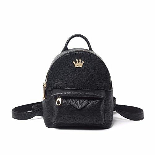 mini - rucksack passen alle weiblichen freizeit tasche,schwarze mini schwarze mini