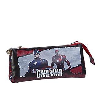 Capitán América – 56192 – estuches de lápices dobles bolsas
