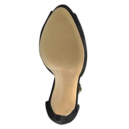 Sandalette Preta Beppina Beppina Camurça Mulheres Mulheres Sandalette Preta Camurça Yv1gH