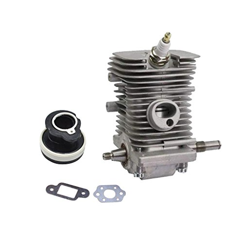 Tubayia - Kit Cilindro pistone per Motosega a Benzina Stihl MS180 MS170 018 MS 180 170