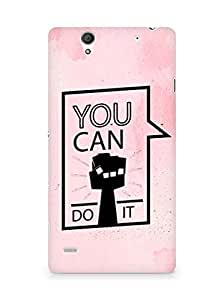 Amez You can Do It! Back Cover For Sony Xperia C4