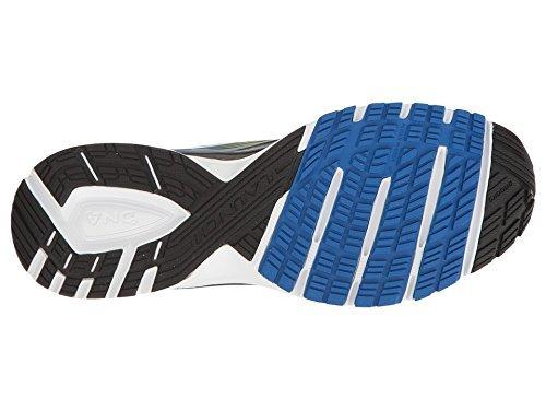 Brooks Launch 4, Scarpe da Corsa Uomo Multicolore (Black/LapisBlue/LimePopsicle)