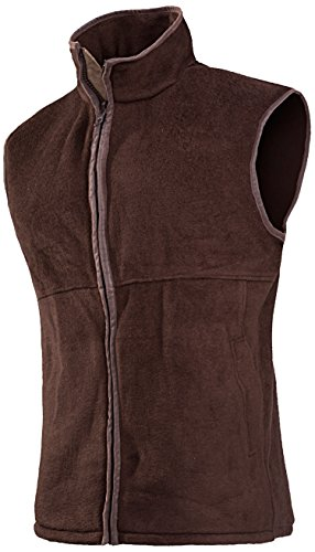 baleno-womens-sally-fleece-gilet-brown-medium