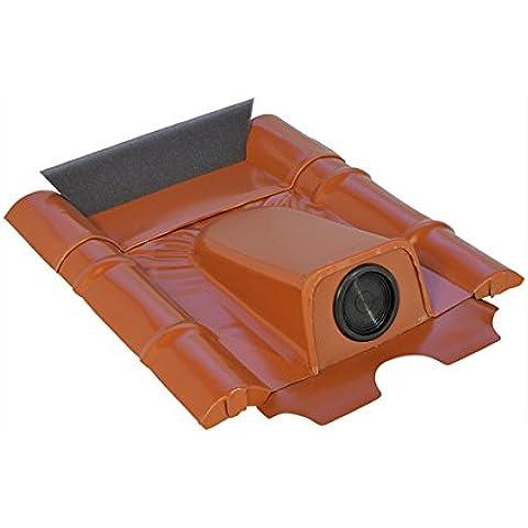 Guida cavo tetto mattoni per calcestruzzo, Nero Grigio verniciato a polvere, zincato
