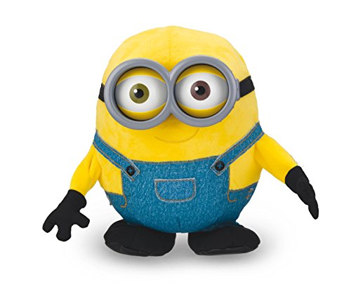 31009 - Original Minions - singender und tanzender Bob, interaktives Funktionsplüsch (Despicable Me Minion Hat)