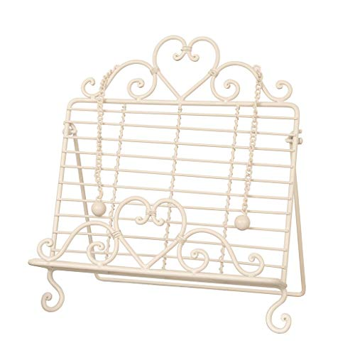 Dibor - French Style Accessories for the Home Vintage Rose Rezept & Kochbuchständer Staffelei H36x l 31 -