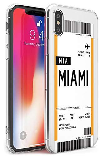 Personalizado Tarjeta De Embarque: Miami Estuche delgado