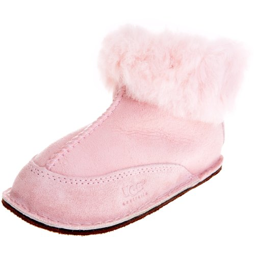 UGG Erin 5202, Unisex - Kinder Hausschuhe, Rosa (Baby Pink BPNK), EU L (Uggs Hausschuhe Für Jungen)